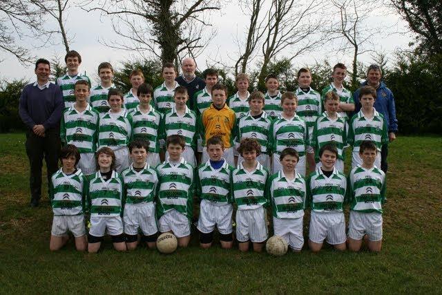 St Rynaghs U14 Feile Team